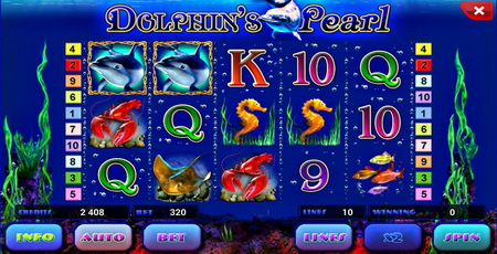 Dolphins Pearl Deluxe mobile